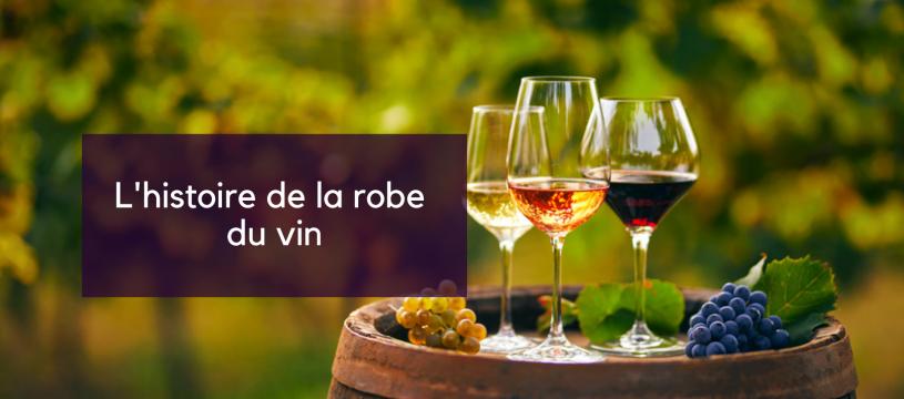 L'histoire de la robe du vin